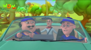 Motu Patlu Episode Car Mechenic