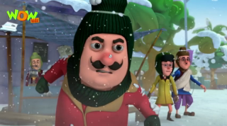 Motu Patlu Episode Snow Man
