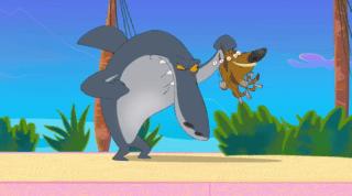 Zig And Sharko Episode Treasure Island Tricks