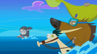 Zig And Sharko Episode Coral Reef Cowboys