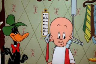 Looney Tunes Episode Design For Leaving