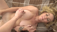 Toys And Cocks For A Fatty Blonde