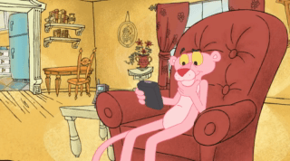 Pink Panther Episode Remotely Pink
