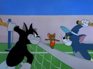 Tom And Jerry Episode Tennis Chumps