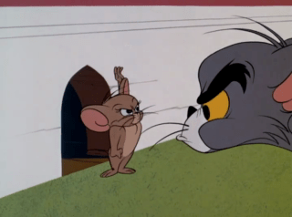 Tom And Jerry Episode Catty-Cornered