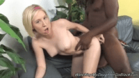 Blonde Gets Blacked