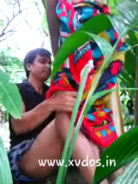 Young Bangladeshi Son Cum Inside Her Mom Pussy On Jungle