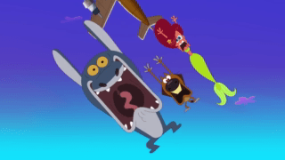 Zig And Sharko Episode The Fall