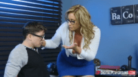 Milf Seduces Nerdy Guy With Big Cock