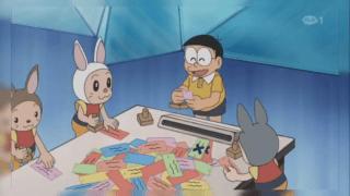 Doraemon Episode Stamp Festival Ke Beach Star War.