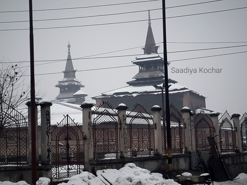 Jama Masjid, Srinagar