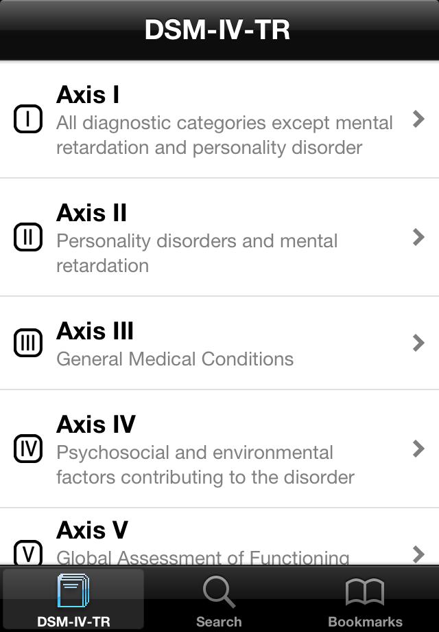 App Shopper: DSM-Axis (Medical)