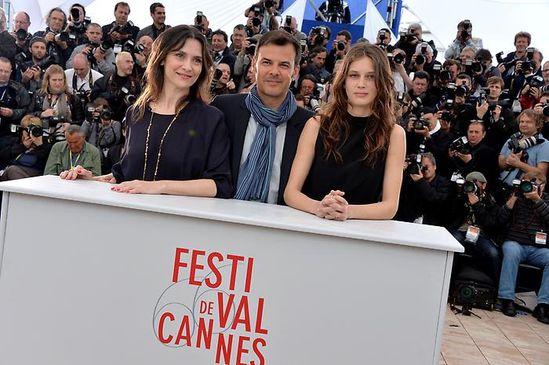 Ozon Pailhas Vacth Cannes 2013