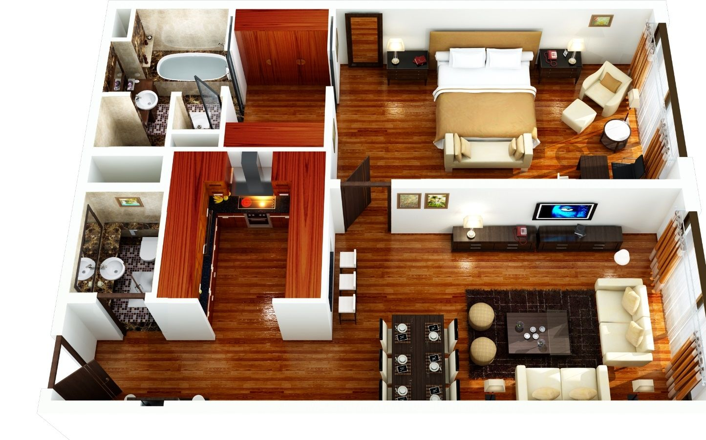 Furnished Two Bedroom Apartments  wwwindiepediaorg