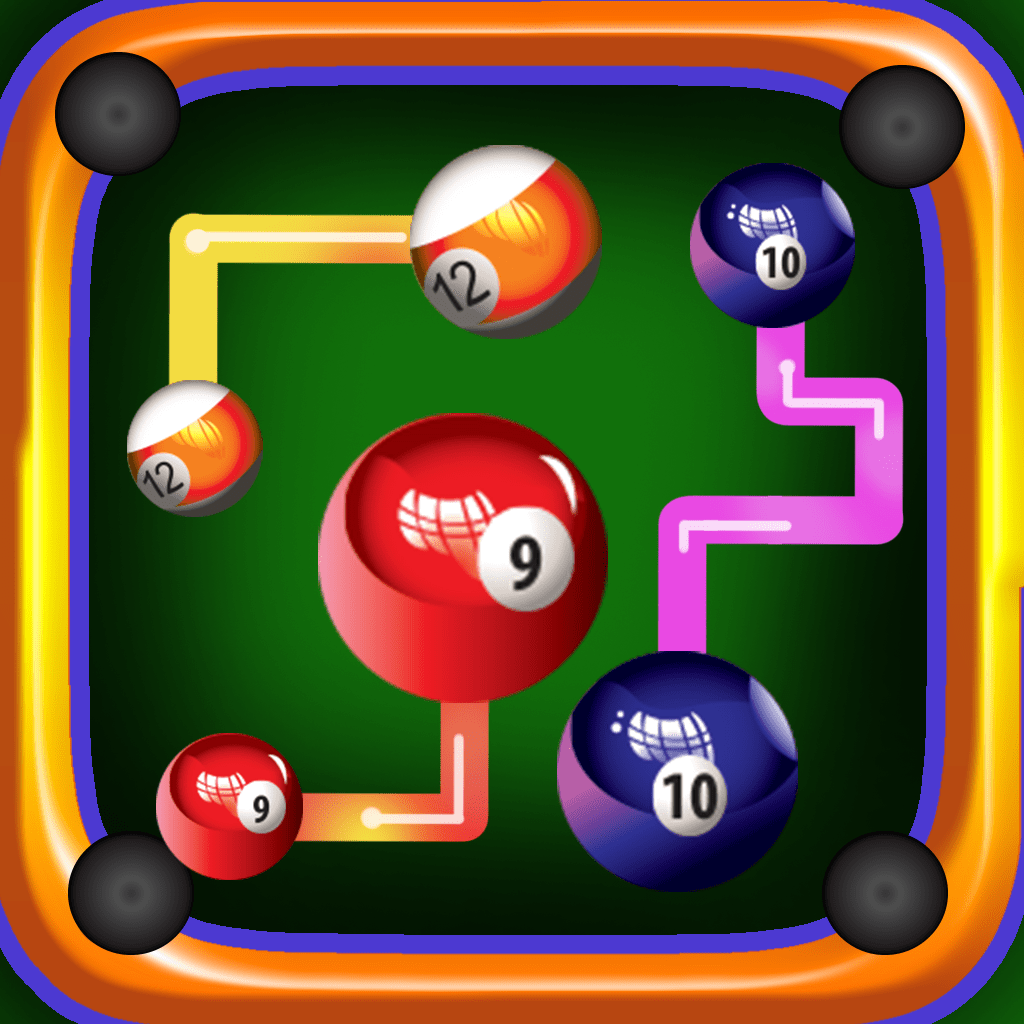 An US 8 ball Pool Pair Matching Free Puzzle Game - The Funny way to play billiard! by Ashfak Ahmed