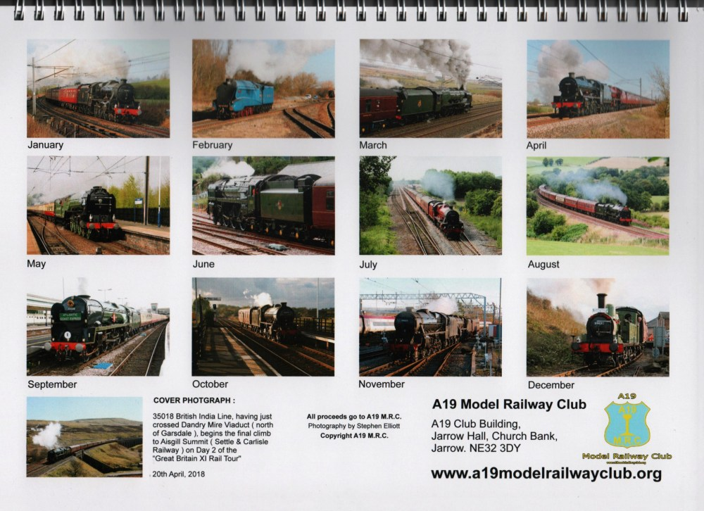 medium resolution of 2019 a19 model railway club calendar a19 model railway club complex pointwork wiring for dcc a19 model railway club