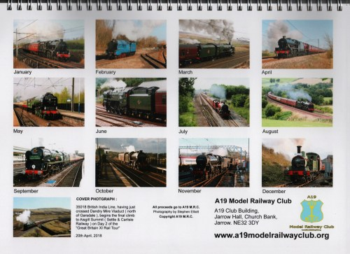 small resolution of 2019 a19 model railway club calendar a19 model railway club complex pointwork wiring for dcc a19 model railway club