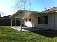 Aluminum Patio Cover and House Gutter in La Porte, TX  A-1
