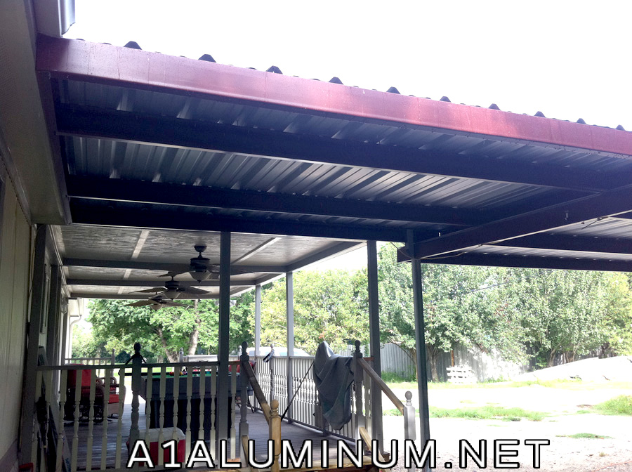 Steel Awning In Baytown TX A 1