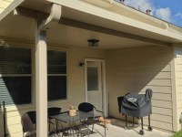 3 Insulated Patio Cover in Pasadena  Flat ceiling  A