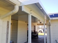 Aluminum Roof Patio Cover Insulated in Baytown, TX  A