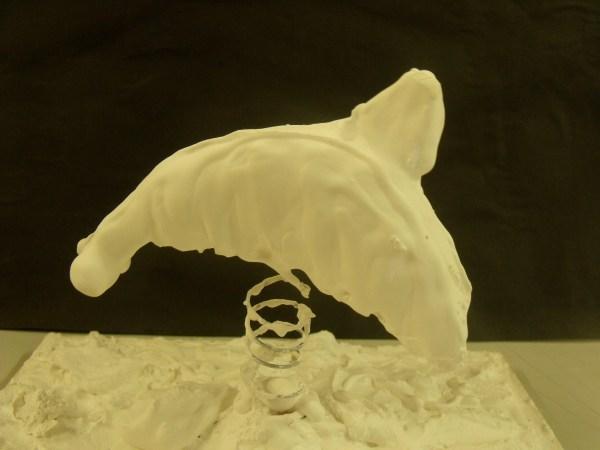 Plaster Hand Sculptures