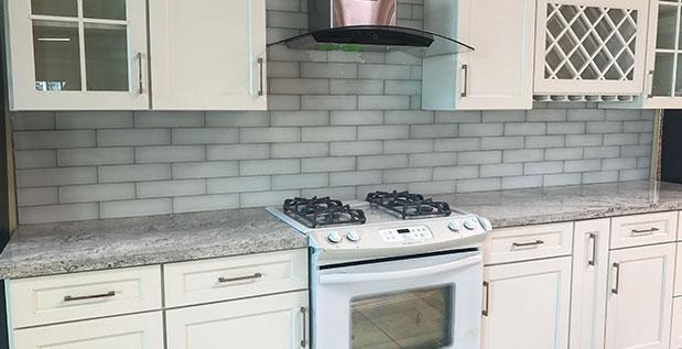 M21  Hollis White  A1 Cabinets  Granite