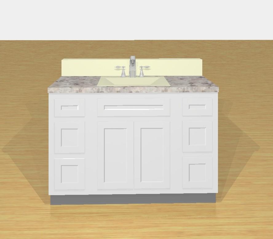 VAD4821  A1 Cabinets  Granite