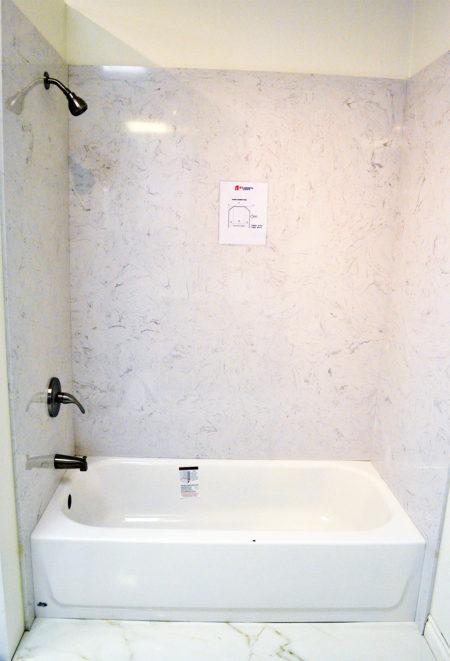 Quartz Bathtub  Shower Surround  A1 Cabinets  Granite
