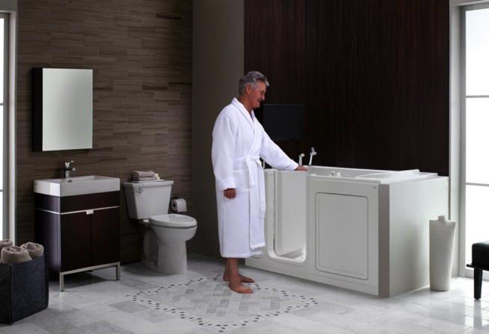 Safe  accessible bathrooms for seniors  Kelowna Plumbers