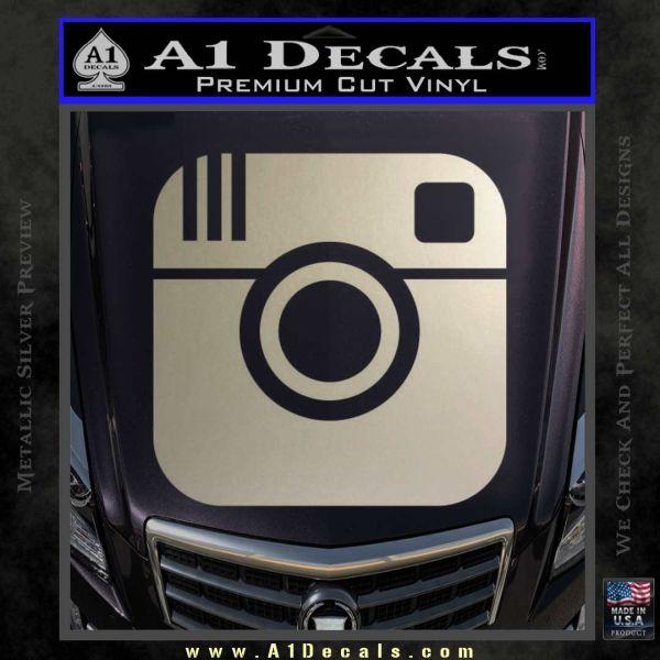 Instagram SQ Decal Sticker  A1 Decals