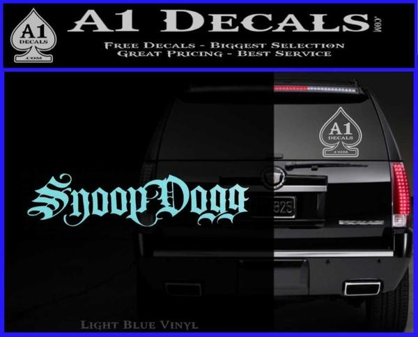 Snoop Dogg Decal Sticker 187 A1 Decals