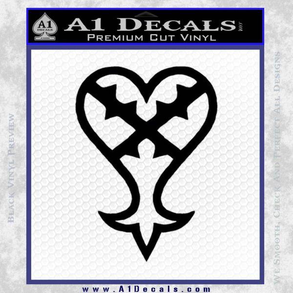 kingdom hearts heartless decal