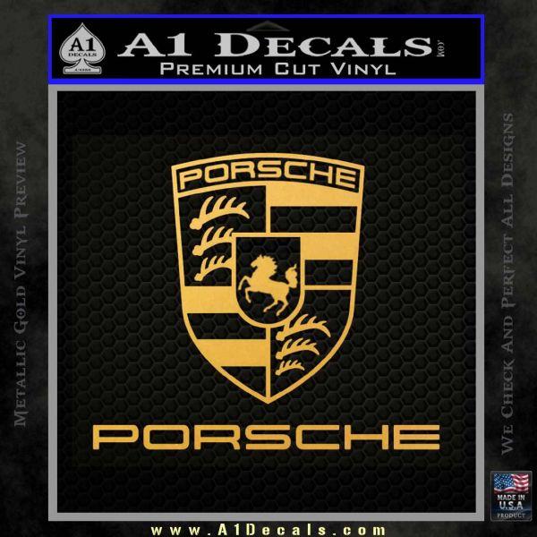 Porsche Decal Sticker Full Emblem Logo » A1 Decals
