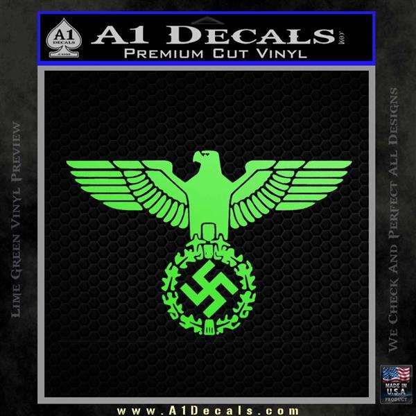 Car Black Car Wash Wallpaper Nazi Swastika Eagle Wreath Decal Sticker 187 A1 Decals
