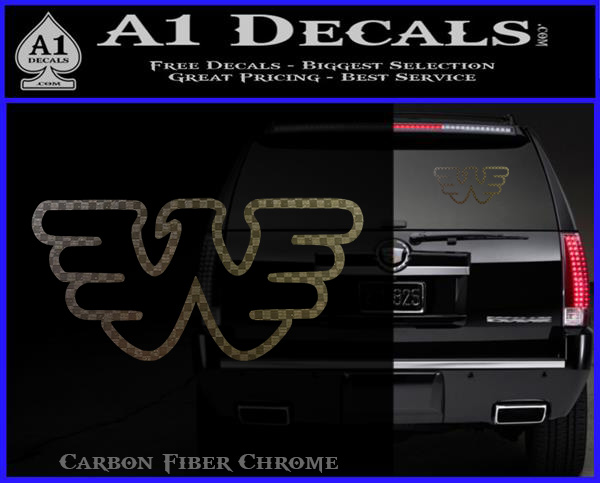 Waylon Jennings Decal Sticker  A1 Decals