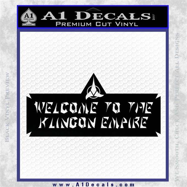 welcome to the klingon