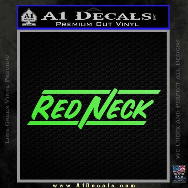 Redneck Decal Sticker VZL  A1 Decals
