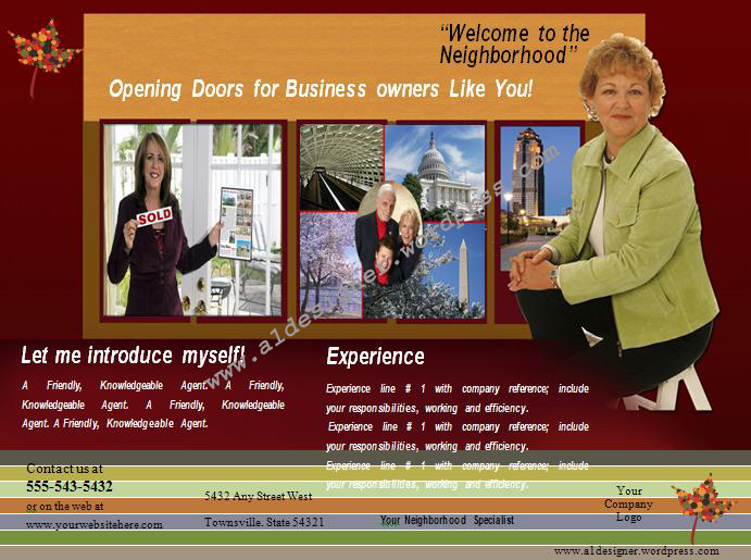 Real Estate Agent Graphics And Templates