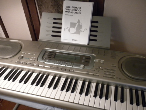 Casio WK 3300 Keyboard Workstation  250  MOVING SALE