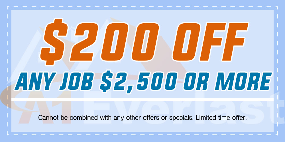 $200 Off Any Job $2500 or More