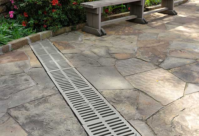 drainage correction french drains