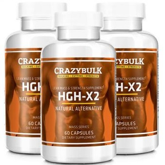 HGH-X2 By Crazy Bulk