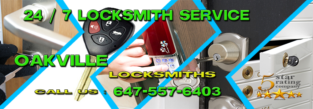 Locksmith Oakville banner