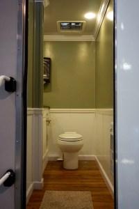 Small Elegant Restroom Trailer Rentals Delaware
