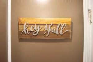 Hey Yall Theme Restroom Trailer