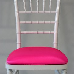 Neon Pink Chair Cowhide Leather And Ottoman Seat Cushions A 1 Tablecloth Co