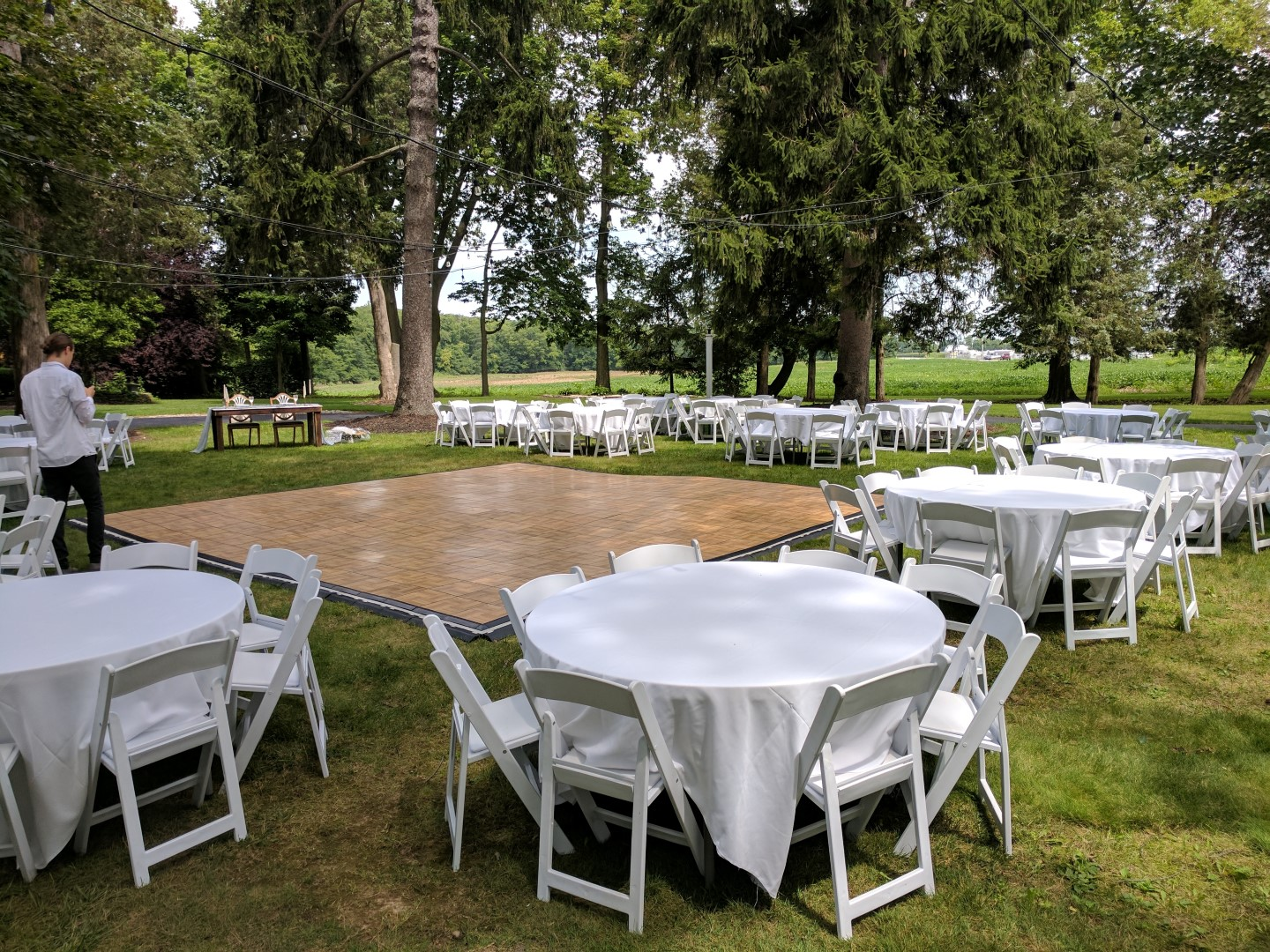 chair cover rentals findlay ohio chairs for office waiting room a1 tent receptions