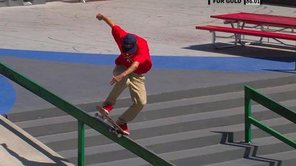 Ryan Sheckler Wins Silver In Skateboard Street