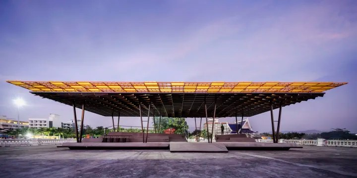 The 'Flow' - A Multipurpose Pavilion